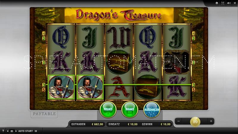 dragons treasure spielen