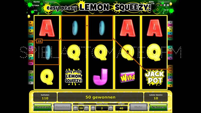 Spiele Easy Peasy Lemon Squeezy - Video Slots Online