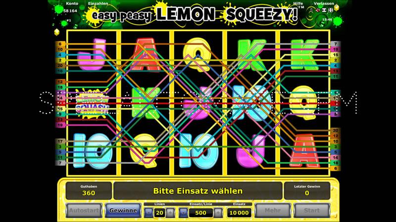 Easy Peasy Lemon Squeezy Slot - Jetzt gratis spielen