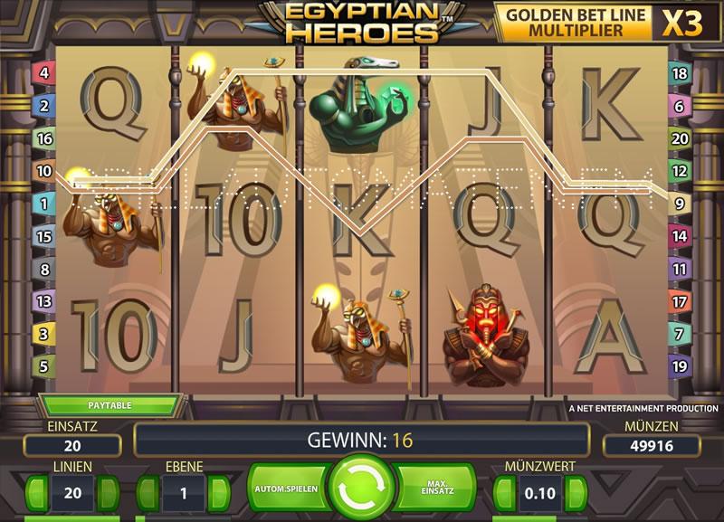 egyptian heroes spielen