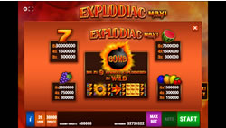 Explodiac Maxi Play Screenshot 2