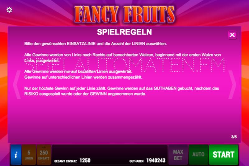 Fancy Fruits spielen » der Test 2019 auf Automatentest.de  Fancy Fruits sp...
