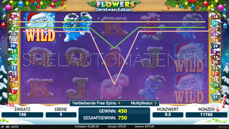 flowers christmas edition spielen