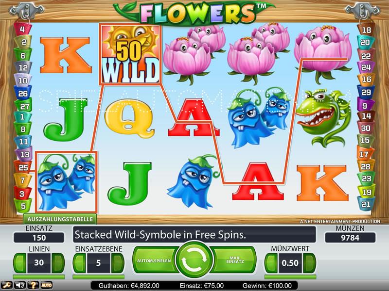 flowers spielen