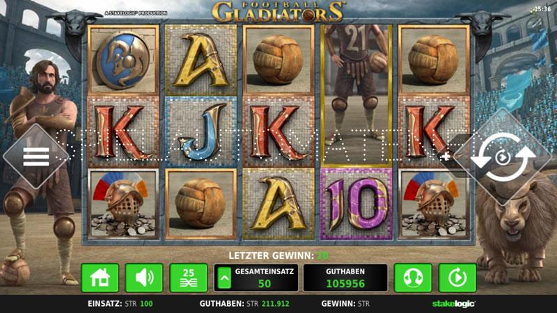 gladiator spiel casino