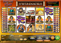 Fortunes of Egypt Screenshot 1