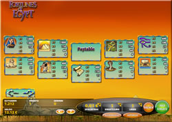 Fortunes of Egypt Screenshot 2