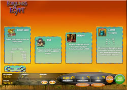 Fortunes of Egypt Screenshot 3