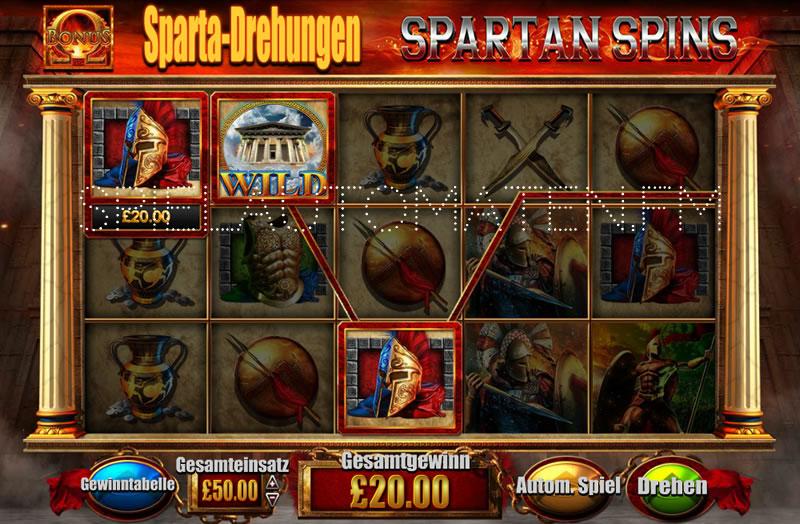 Spiel Sparta