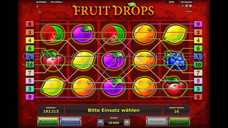 fruit drops spielen