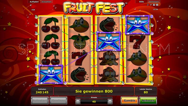 fruit fest spielen