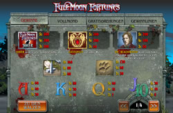 Full Moon Fortunes Screenshot 3