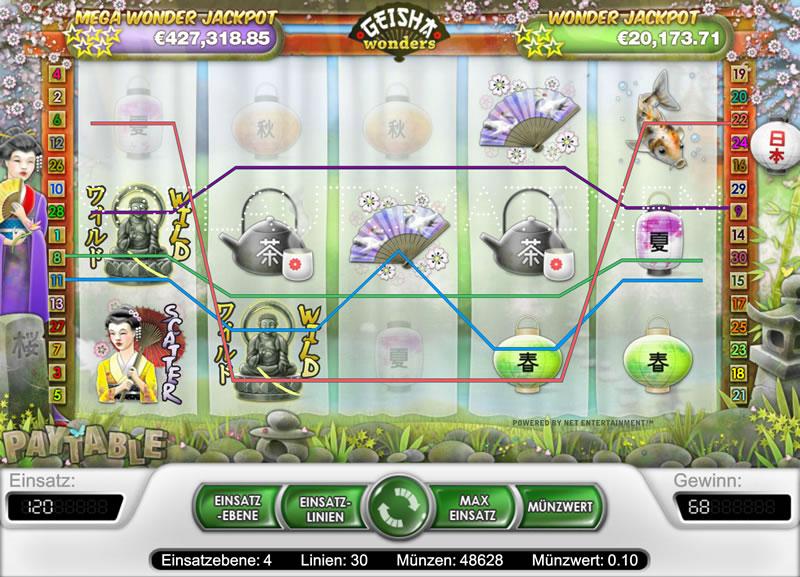 Geisha Wonders slots - spil Geisha Wonders slots gratis online.