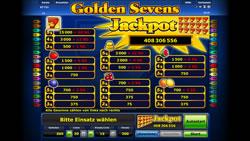 Golden Sevens Screenshot 3