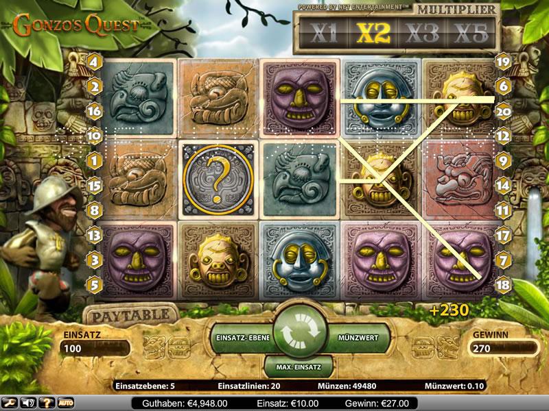 Gonzos Quest | Spielautomaten im Online Casino | Mr Green