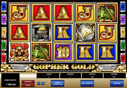 Gopher Gold Screenshot 1