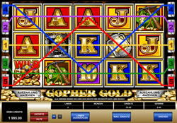 Gopher Gold Screenshot 2