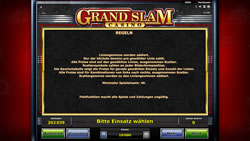 Grand Slam Casino Screenshot 4