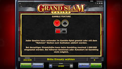 Grand Slam Casino Screenshot 5