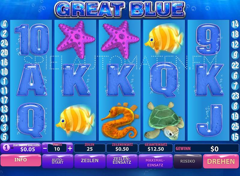 Great Blue: Unter Wasser auf Schatzsuche – jetzt spielen und gewinnen!