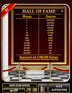 Hall of Fame Screenshot 2