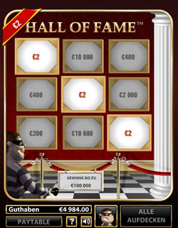Hall of Fame Screenshot 5