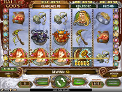 Hall of Gods Screenshot 1