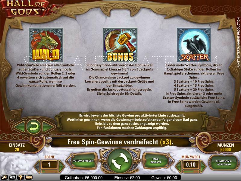 Hall Of Gods | Spielautomaten im Online Casino | Mr Green