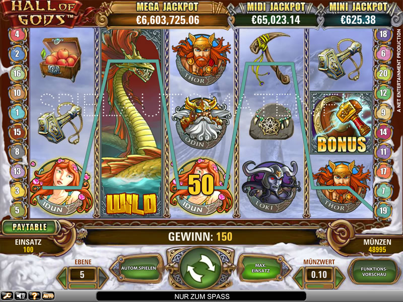 Hall Of Gods | Spielautomaten im Online Casino | Mr Green