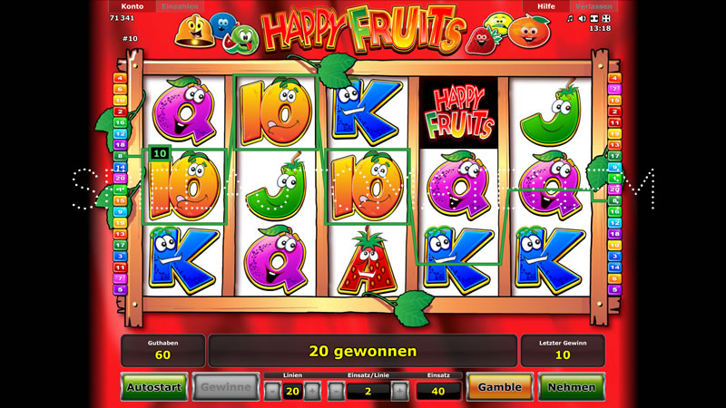 happy fruits spielen