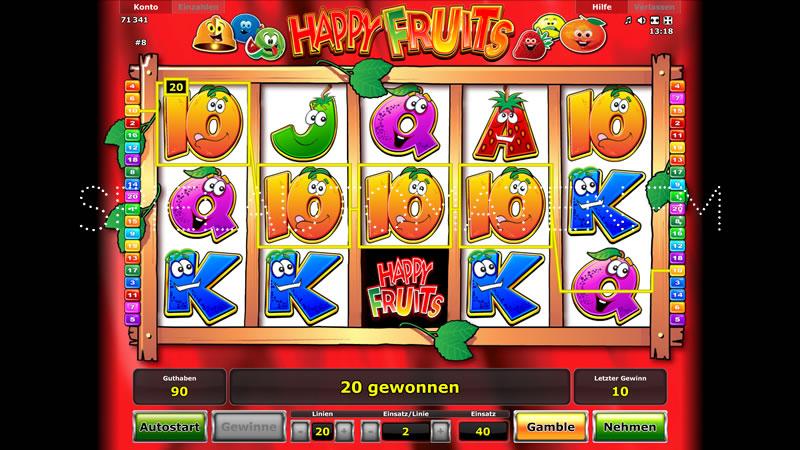 happy fruits spielen