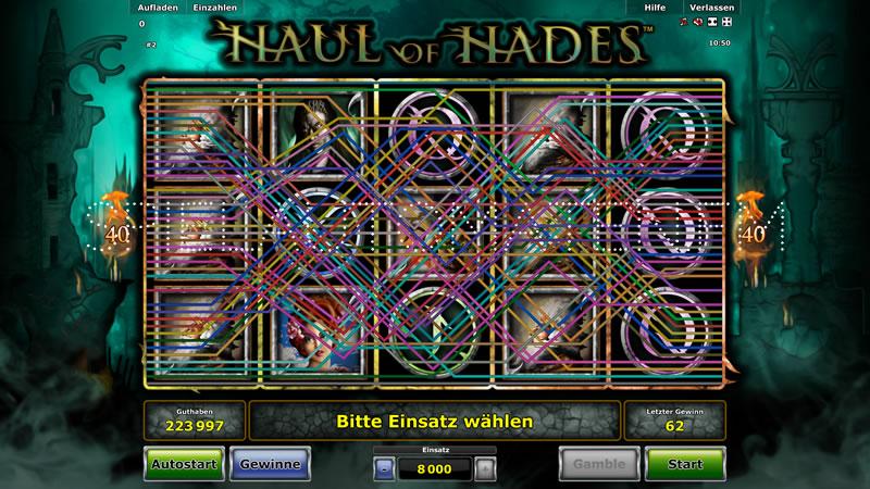 haul of hades spielen