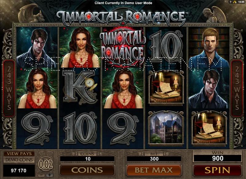Der Slot Immortal Romance –jetzt kostenlos online spielen
