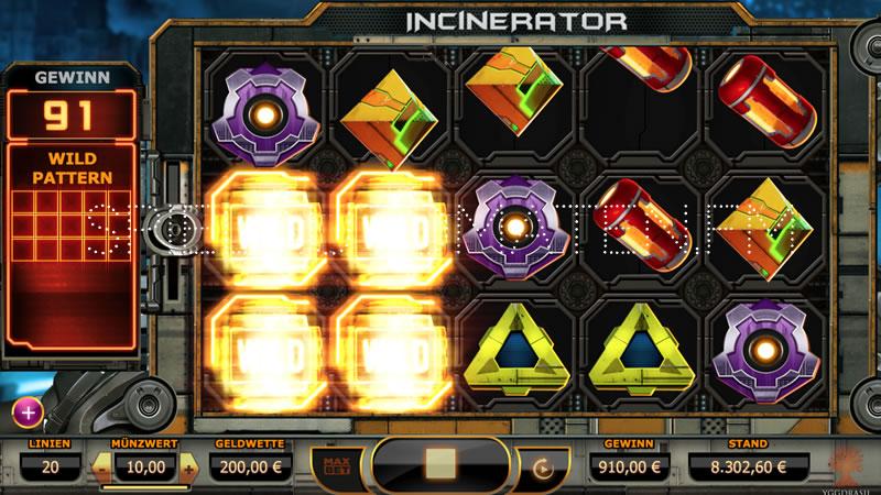 incinerator spielen