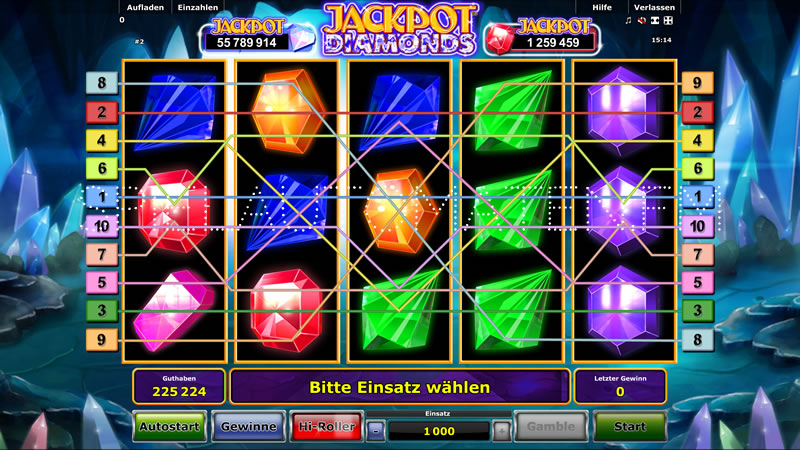 jackpot diamonds spielen