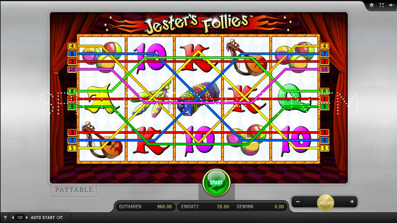 jesters follies spielen