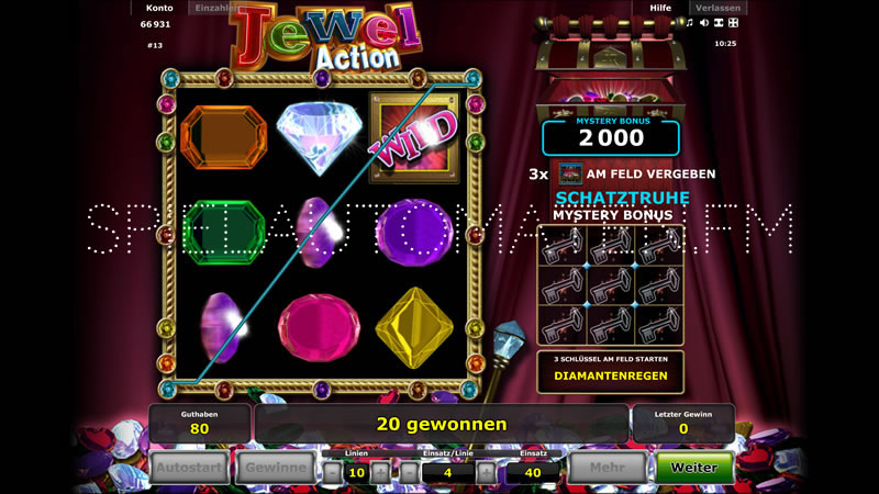 jewel action spielen