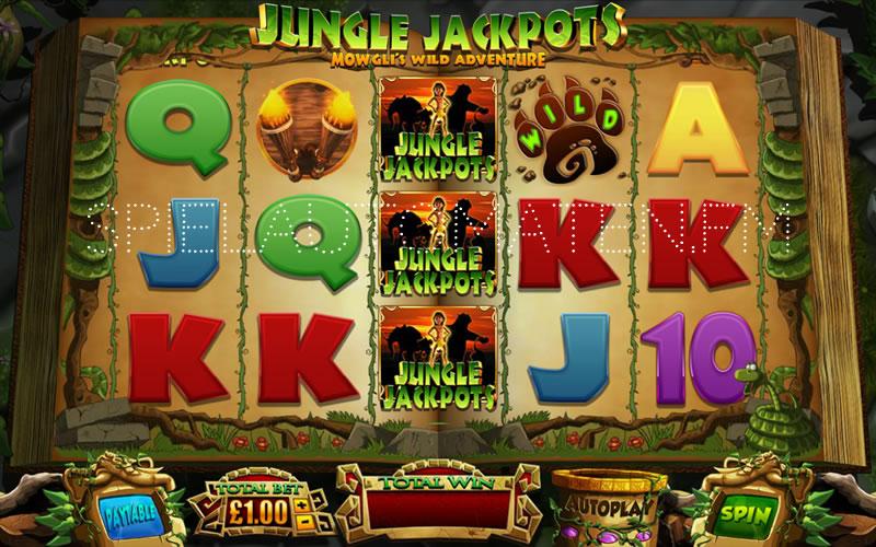 jungle jackpots spielen