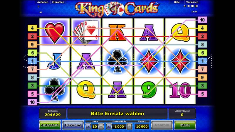king of cards spielen