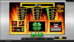 King of Luck Screenshot 1