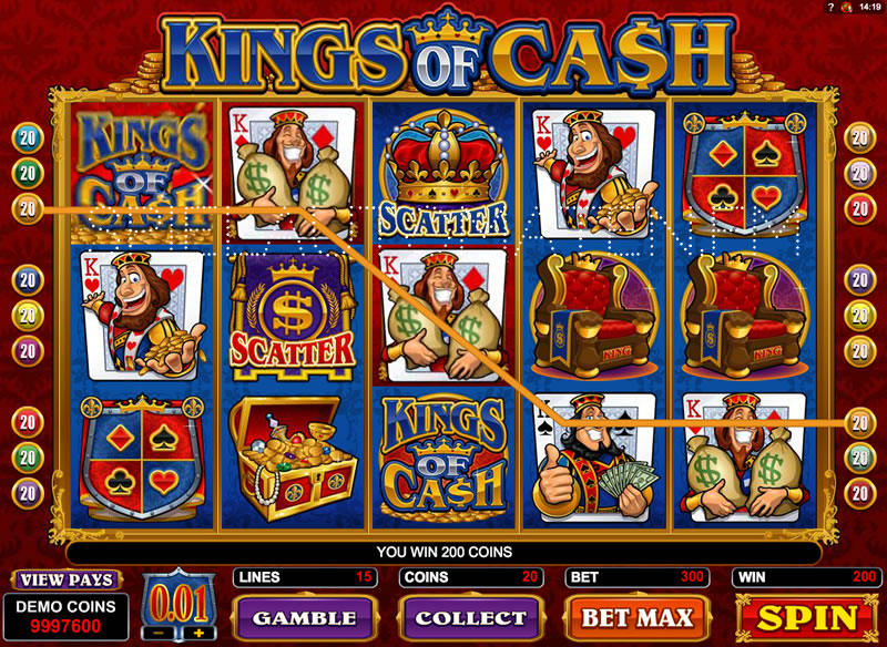 kings of cash spielen