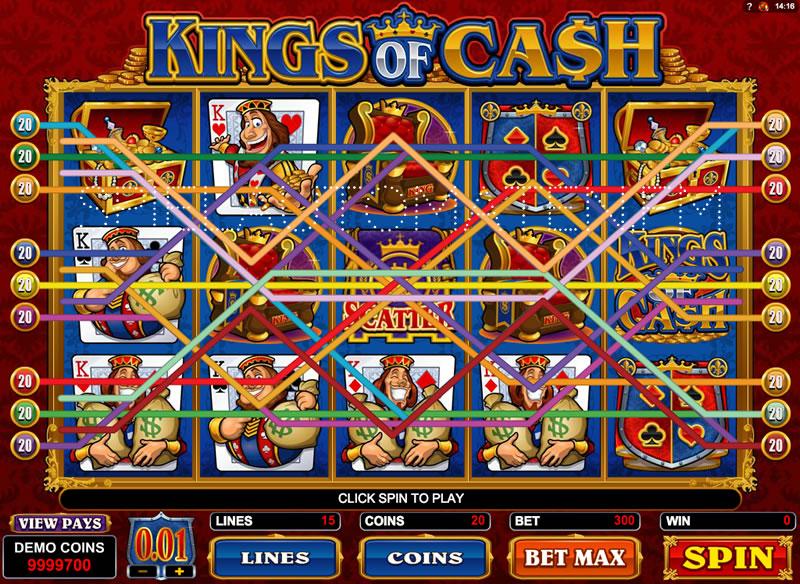 kings of cash spielen