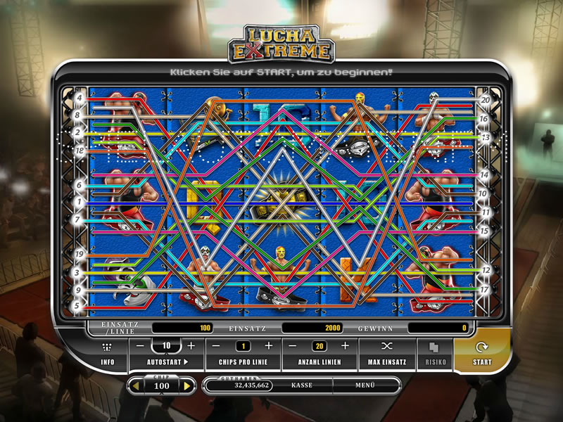 Spiele Lucha Extreme - Video Slots Online
