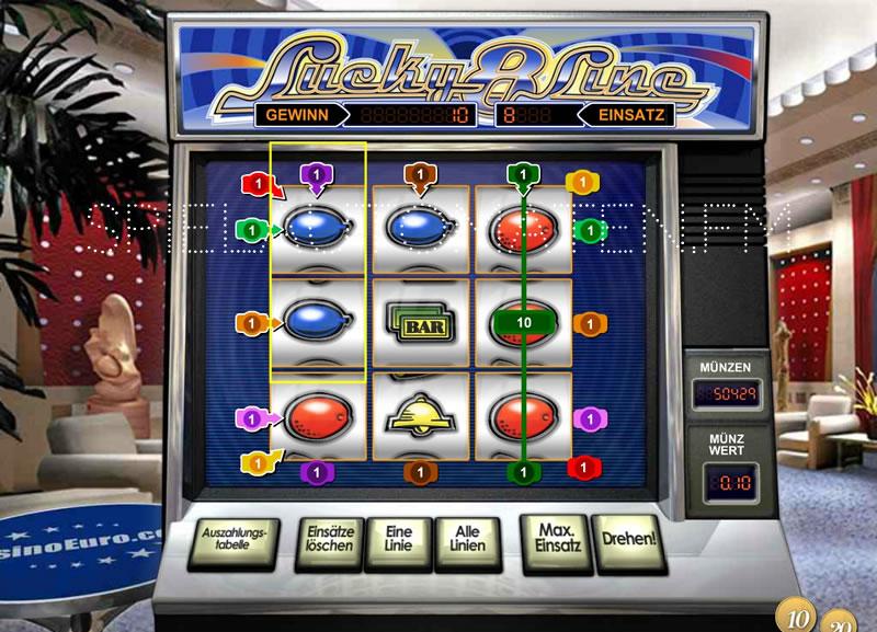 Lucky 8 Line Spielautomat im Test - Jetzt Online Gratis Spielen