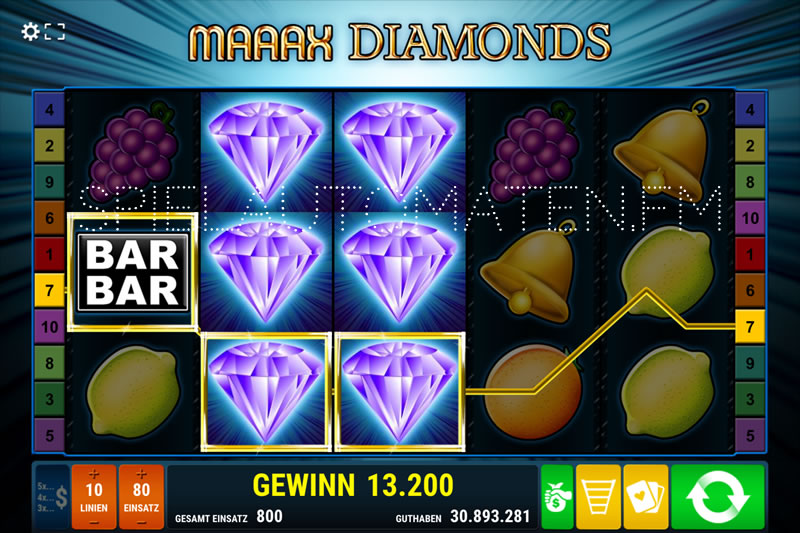 maaax diamonds spielen
