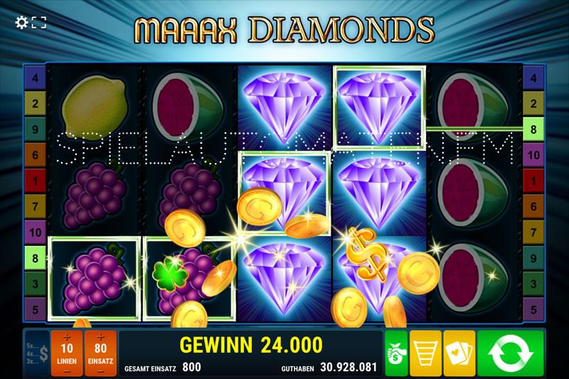 maaax diamonds spielen