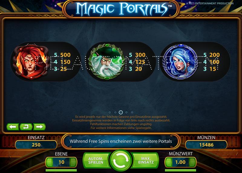 magic portals spielen