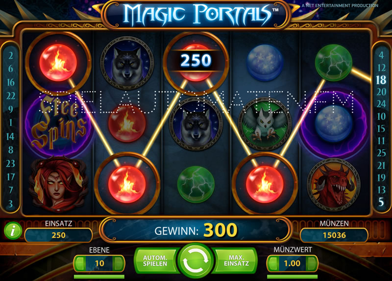 magic portals spielen