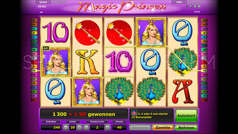 magic princess spielen