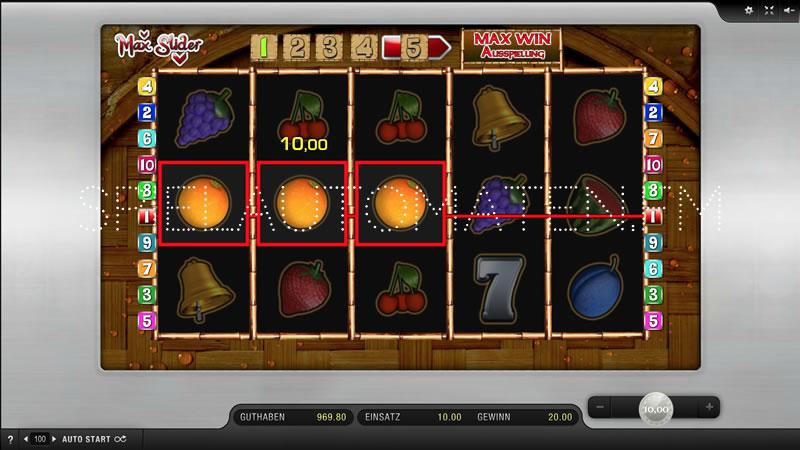 Spiele Max Slider - Video Slots Online